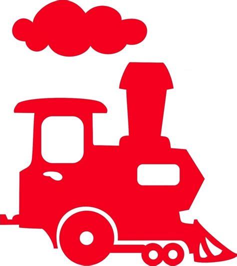 wagon locomotief szablony pinterest silhouettes