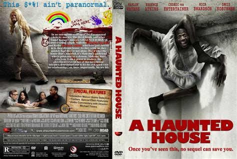 a haunted house dvd custom covers a haunted