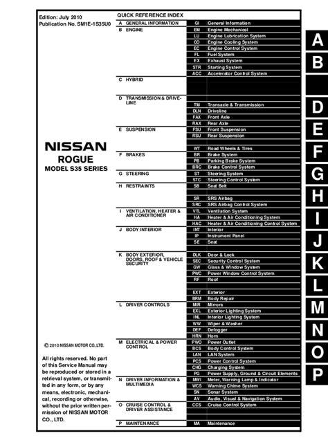 Nissan Rogue Fuse Diagram - Wiring Diagram