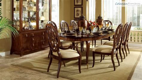 Bob Mackie Dining Room Furniture Bob Mackie Home Signature Oval Dining Room Collection From American Drew