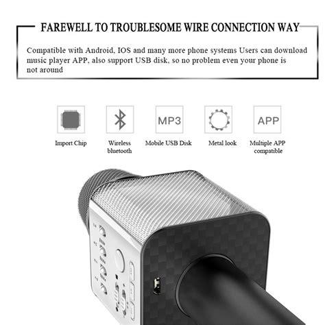 Mic Speaker Ktv Q7 Q9 Fleco Powerbank High Quality q7 q9 ws858 ws 858 ws878 ws 878 ktv mic portable wireless bluetoo microphone 11street malaysia