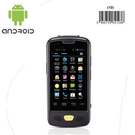 barcode scanner android android mobile device with barcode scanner for inventory stocktaking asset tracking retail
