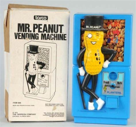 tarco bank planters peanuts novelty bank mr peanut vending machine