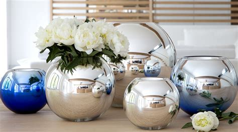 Mouth Blown Glass Vase Christofle Uni Vase Buy Online At Luxdeco Com