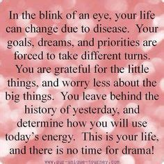 Three Years Go By In The Blink by Brain Tumor Quotes On Brain Tumor I Am