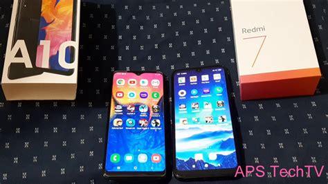 Redmi 7 Samsung A10 by Redmi 7 Vs Samsung A10 Speed Test Ram Management Comparison In