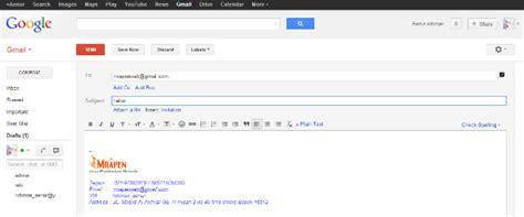 cara membuat signature yahoo mail cara membuat signature di gmail mail dan yahoo mail