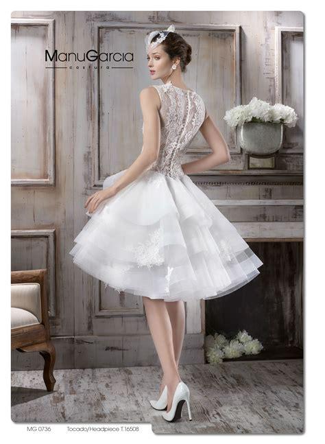 vestido corto de novia vestidos de novia cortos colecci 243 n 2016 higarnovias