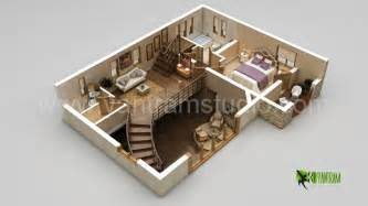 Interactive Online Room Planner 3d home floor plan design by yantram studio 3d artist