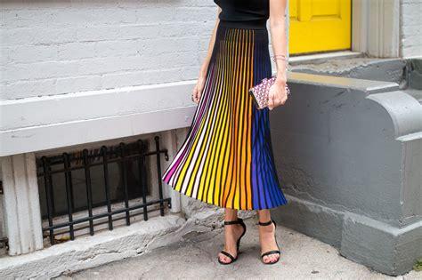 striped midi skirt with rainbow stripes kenzo baubles to