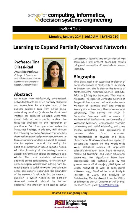 tina eliassi rad learning to expand partially observed networks january 22