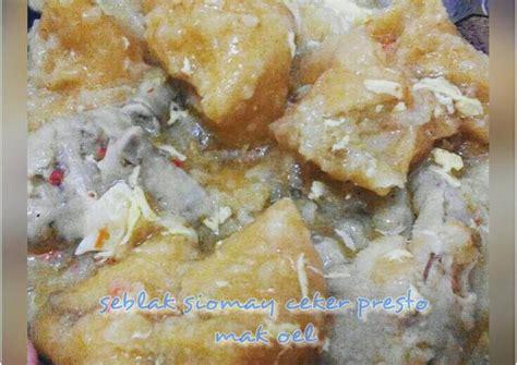 resep seblak siomay ceker presto oleh  wulan cookpad