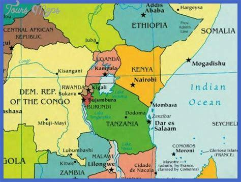 africa map rwanda rwanda map toursmaps