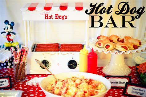 hot bar themes hot dog bar