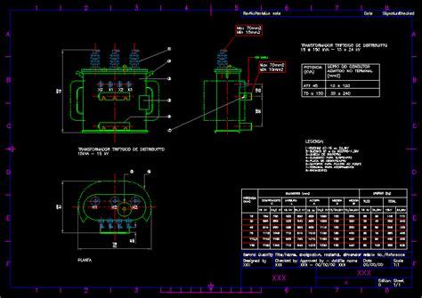 transformer kva dwg block  autocad designs cad