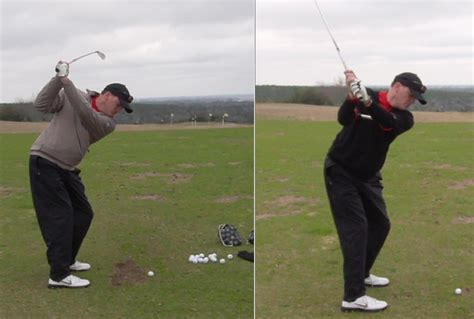 golf rotary swing before and afters rotaryswing com