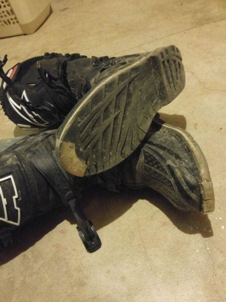 motocross boots size 11 size 11 dirtbike boots brick7 motorcycle
