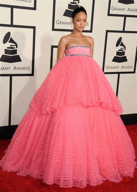 Grammy Awards Rihanna by Rihanna At The 57th Annual Grammy Awards Celebzz