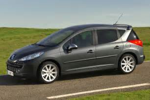 Peugeot 207 Sw Estate Comparatifs Nouveaut 233 S Clio 3 Estate Vs 207 Sw