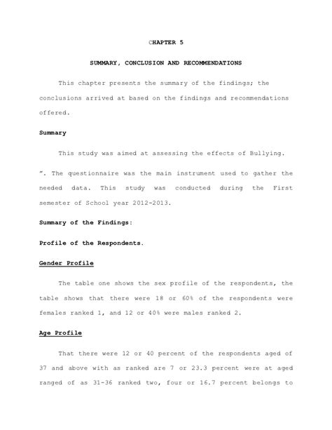 findings section of a dissertation conclusion and recommendations in dissertation need