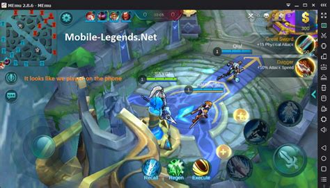 play for mobile play on pc mobile legends 5 steps mobile legends