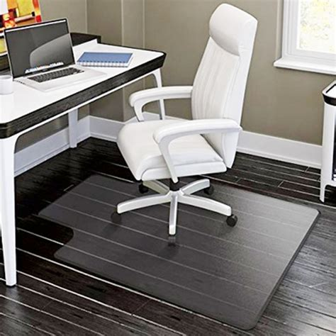 desk chair mat hardwood floors pvc matte desk office chair floor mat protector for