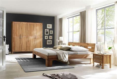 Holzschrank Schlafzimmer by Schlafzimmer Komplett Set Kernbuche Massiv Ge 246 Lt