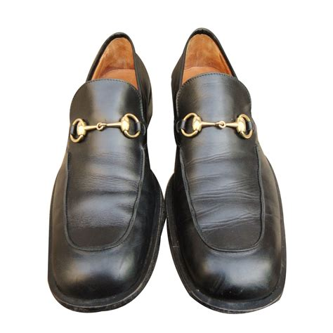 loafers slip ons gucci loafers slip ons loafers slip ons leather black ref