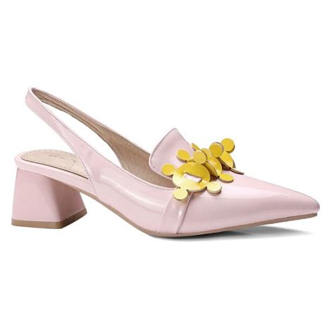 Point Toe Slingback Pumps Black 38 wholesale pointed toe slingback pumps in pink 39