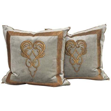 Textile Pillows by Antique Textile Pillows At 1stdibs