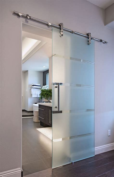 Sliding Glass Barn Doors Femme Cafe Photo Bathroom Glass Barn Doors Sliding Doors And Glasses