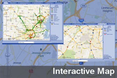 us road map interactive chart coordinated highways action response team