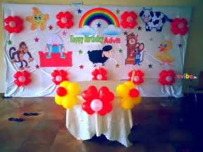 Nursery Rhyme Decor Basic Nursery Rhyme Theme Decor Birthday Simple Theme Decorations In Bangalore Evibe In
