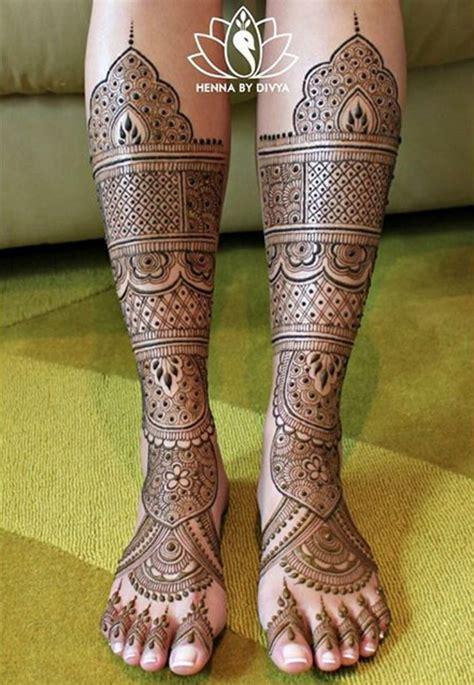 henna  divya legs mehndi design bridal mehndi designs