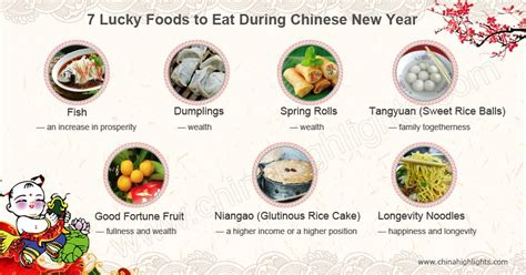 7 lucky foods to eat during chinese new year spring