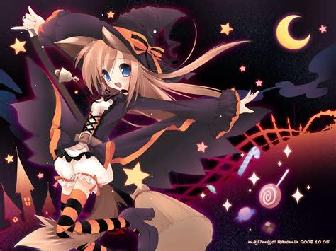 anime girl halloween wallpaper halloween anime wallpaper wallpapersafari