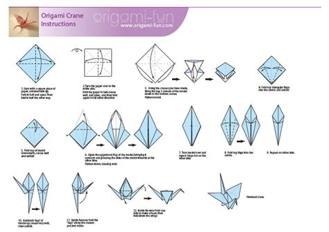 How Do You Fold A Paper Crane - paper cranes crafty geordi