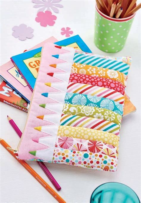 Patchwork Pencil Pattern - sewing patterns patterns and crayons on