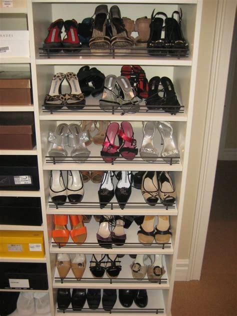 slanted shoe shelves yelp