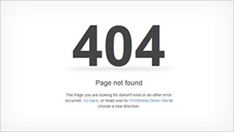 page not found error 404 web design professionals warp6 error pages yootheme