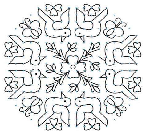 dot pattern rangoli related posts