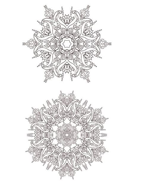 advanced snowflake coloring pages advanced christmas coloring page 10 snowflakes coloring