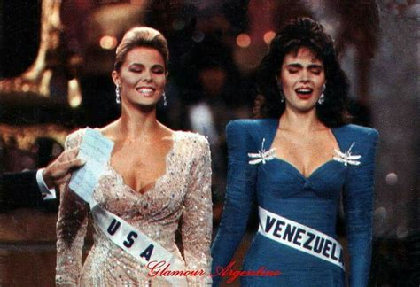 7 Things From The 1980s I Miss by Barbara Palacios Teyde Miss Universe 1986