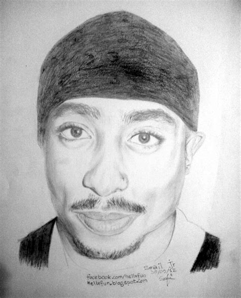 Drawing 2pac by Drawings And More September 2012