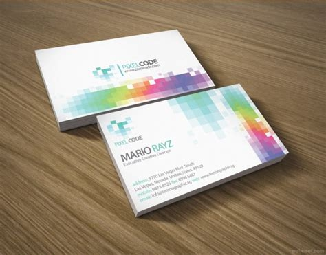 Design Business Cards At Home by Colorful Business Card Design 15