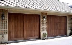 Garage Wood Doors Best Wood Garage Doors Door Styles