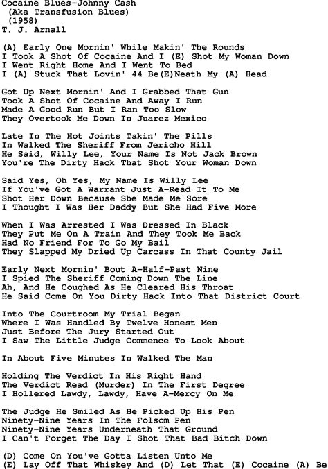 blues lyrics johnny folsom prison blues chords heartwood guitar