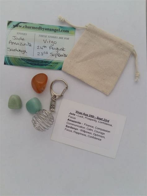 Virgo Set by Virgo Gemstone Gift Set