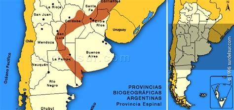 ff provincia biogeografica espinal  southernmost south