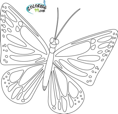 black and white coloring pages of butterflies butterfly black and white coloring page freecoloring4u com